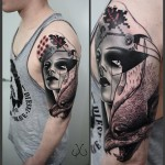 Shoulder Tattoo Abstract