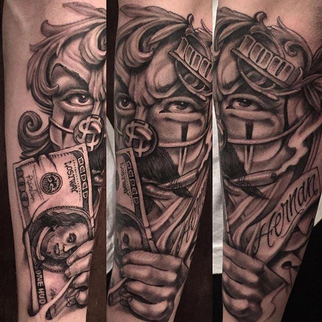 gangster Chicano tattoo