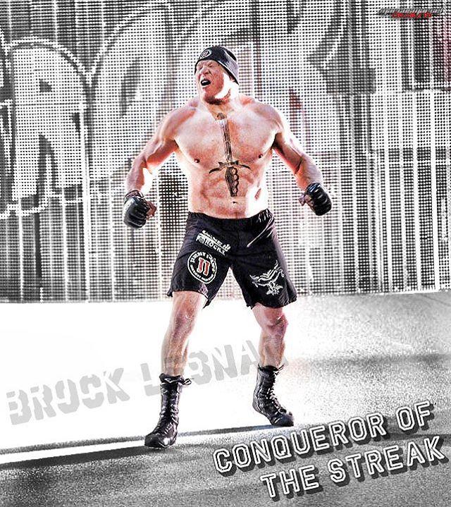 Brock Lesnar toorso tattoo