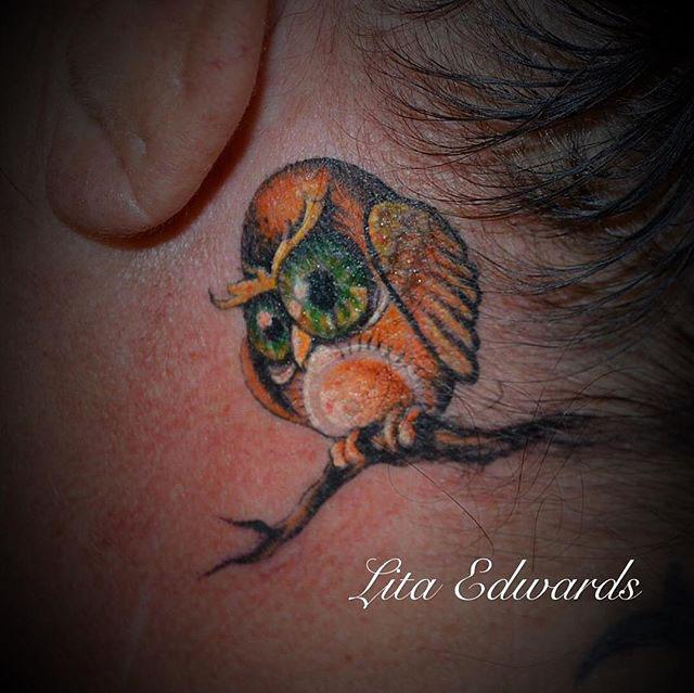 Little Owl Tattoo