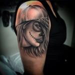 Mexican Dead Girl Tattoo