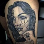 Stile Chicano Tattoo