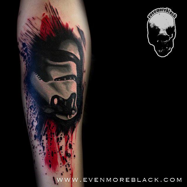 strom trooper trash polka tattoo
