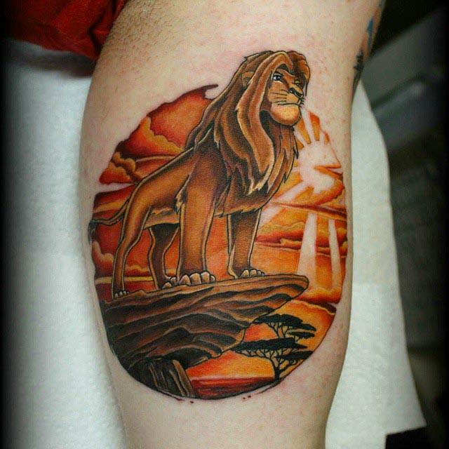 The Lion King Tattoo by tarren_malham
