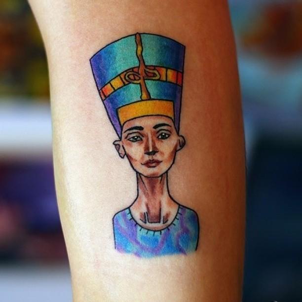 Egyptian Tattoo Art by aedrianvd