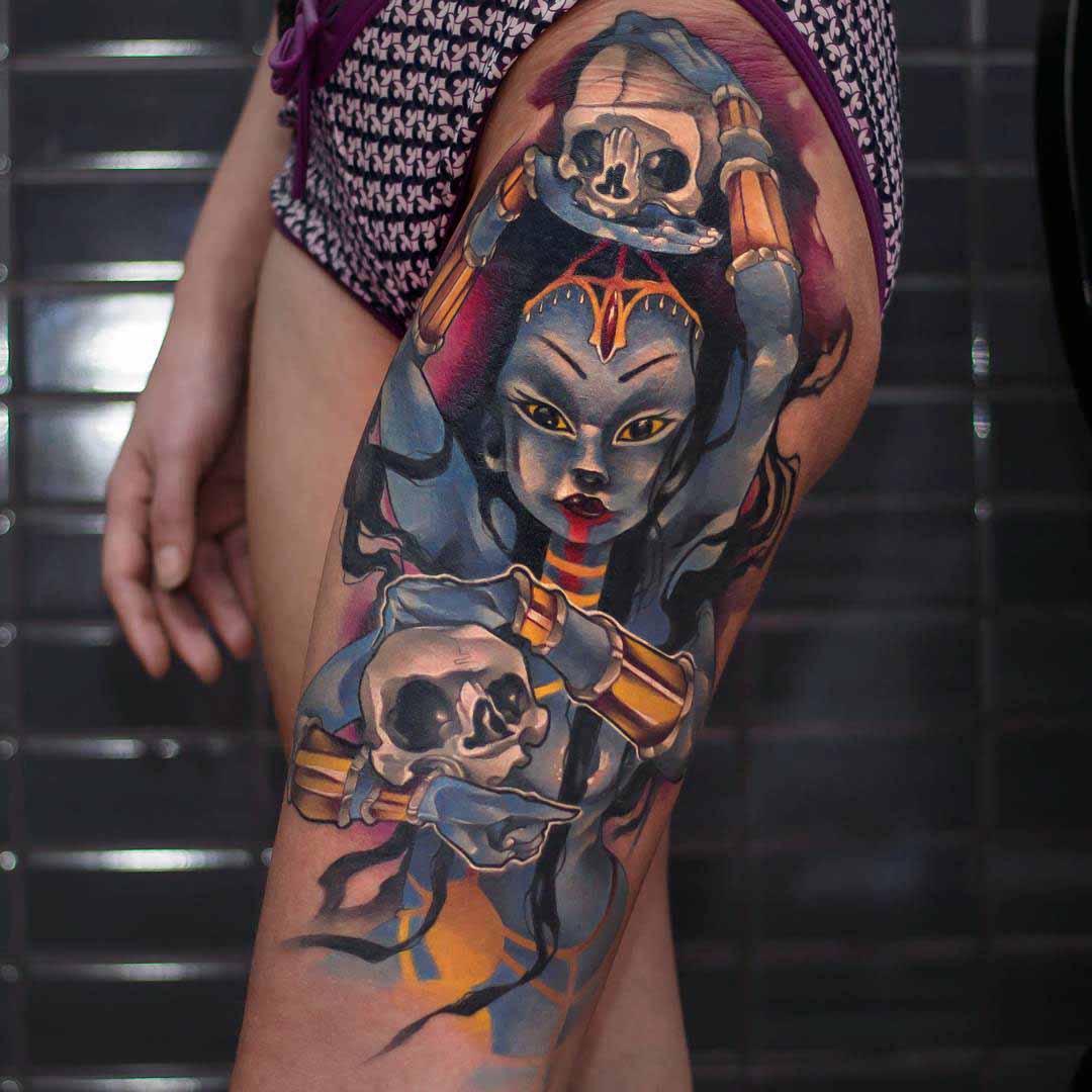 goddess tattoo Kali
