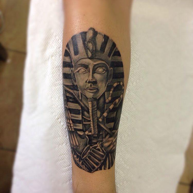 Pharaoh Tattoo Design by artofricardomoreno