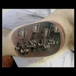 Pistons Tattoo