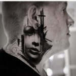 Side of Neck Tattoo