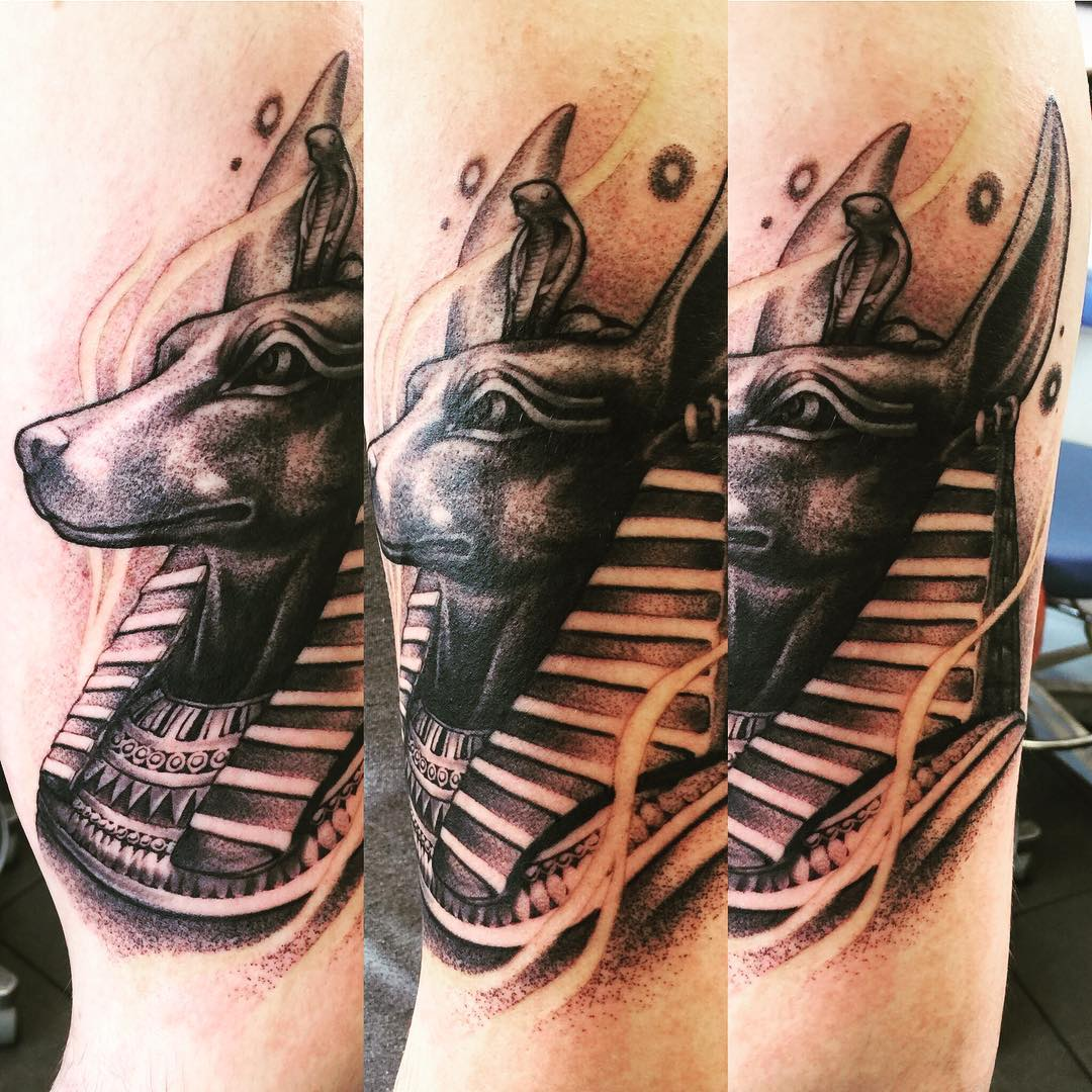 Tattoo Anubis by @danielflower