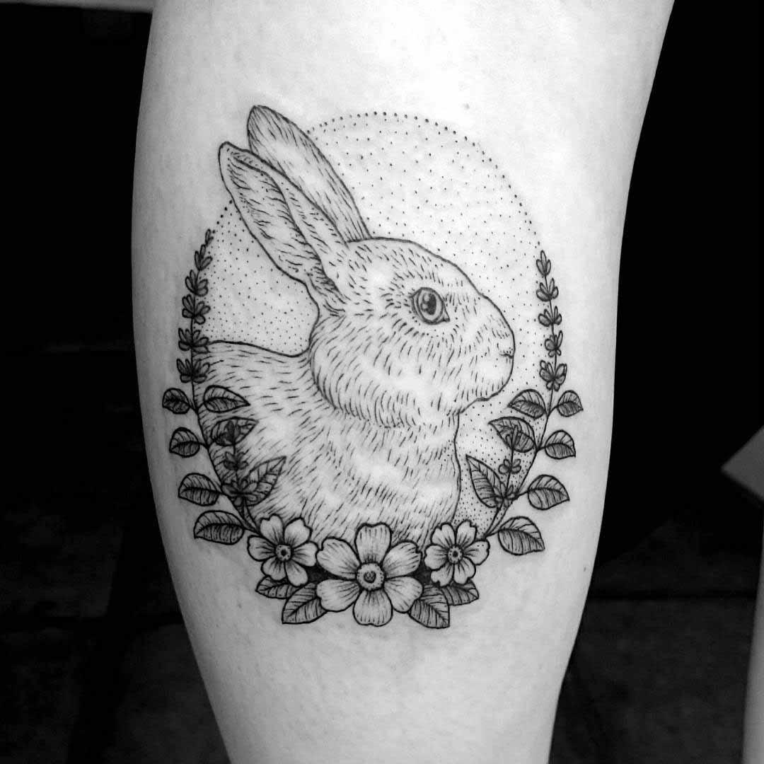 Tattoo Calf by caspercallawaytattoo