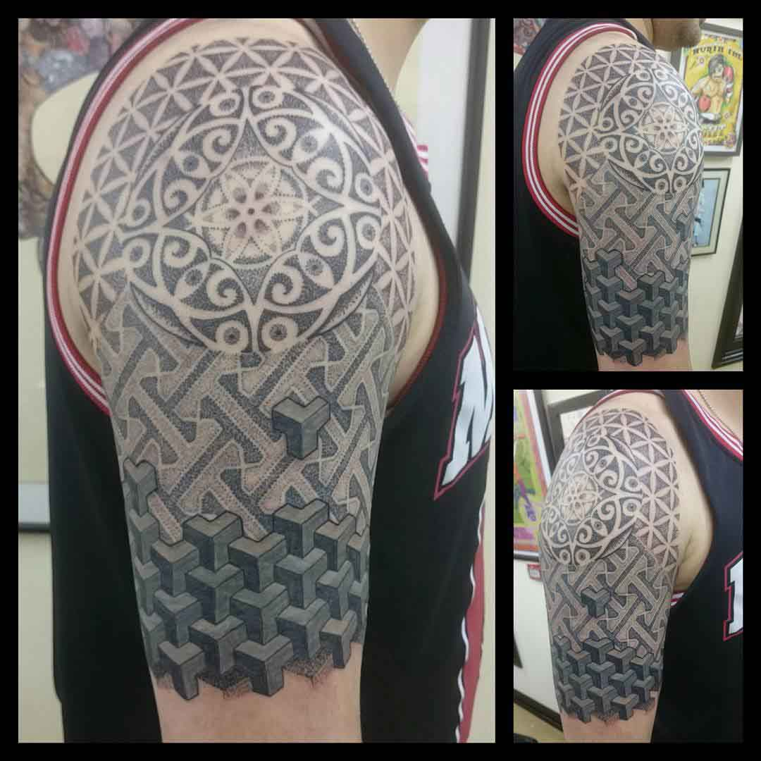 Tattoo Dotwork by truegenttattoos13 2