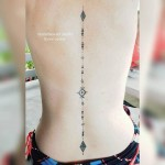 Tattoo Down The Spine