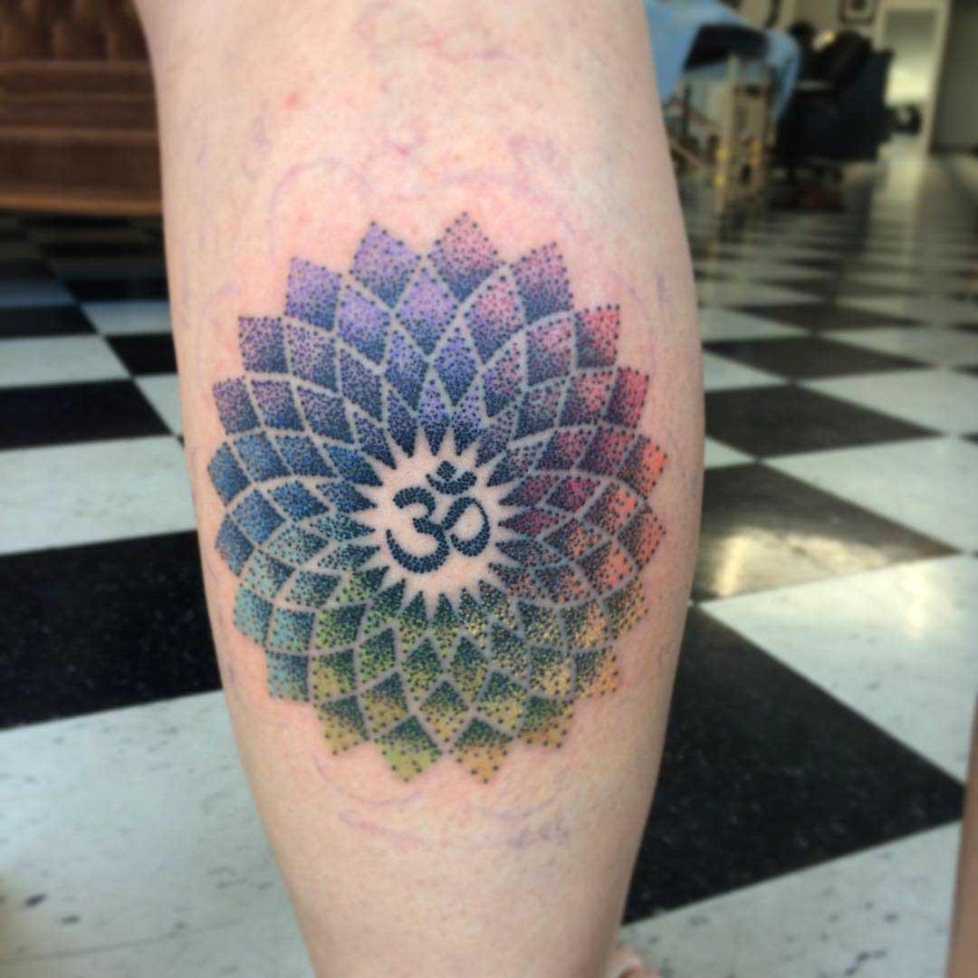 Tattoo on Calf by @haillymartin