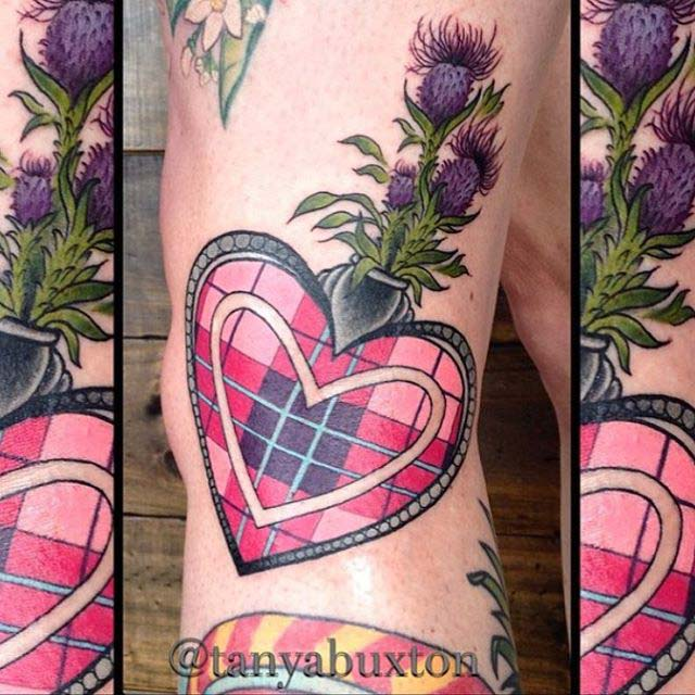 Tattoo Scottish by Beccy Rimmer