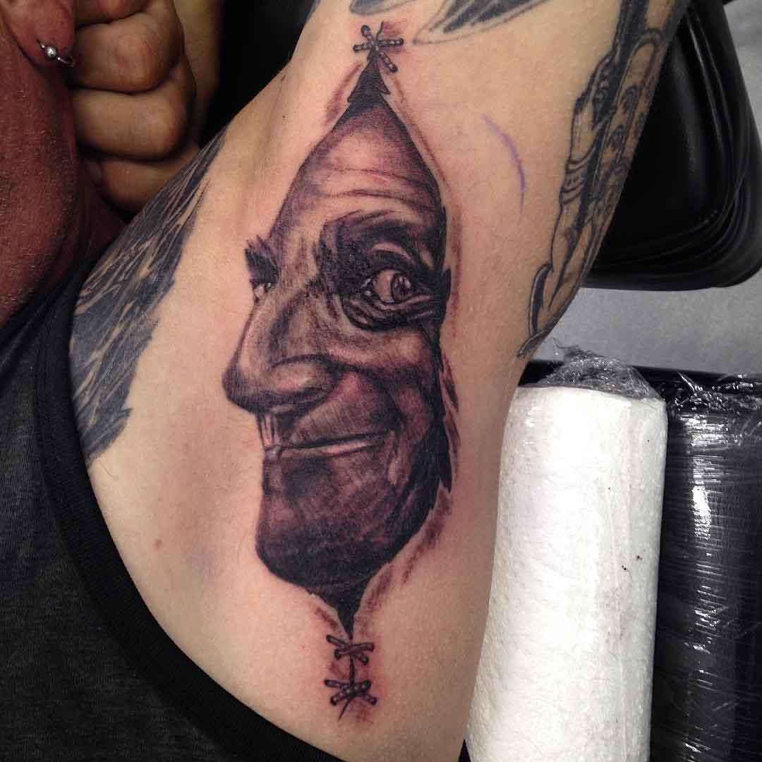 Under Armpit Tattoo by tattoospetecox
