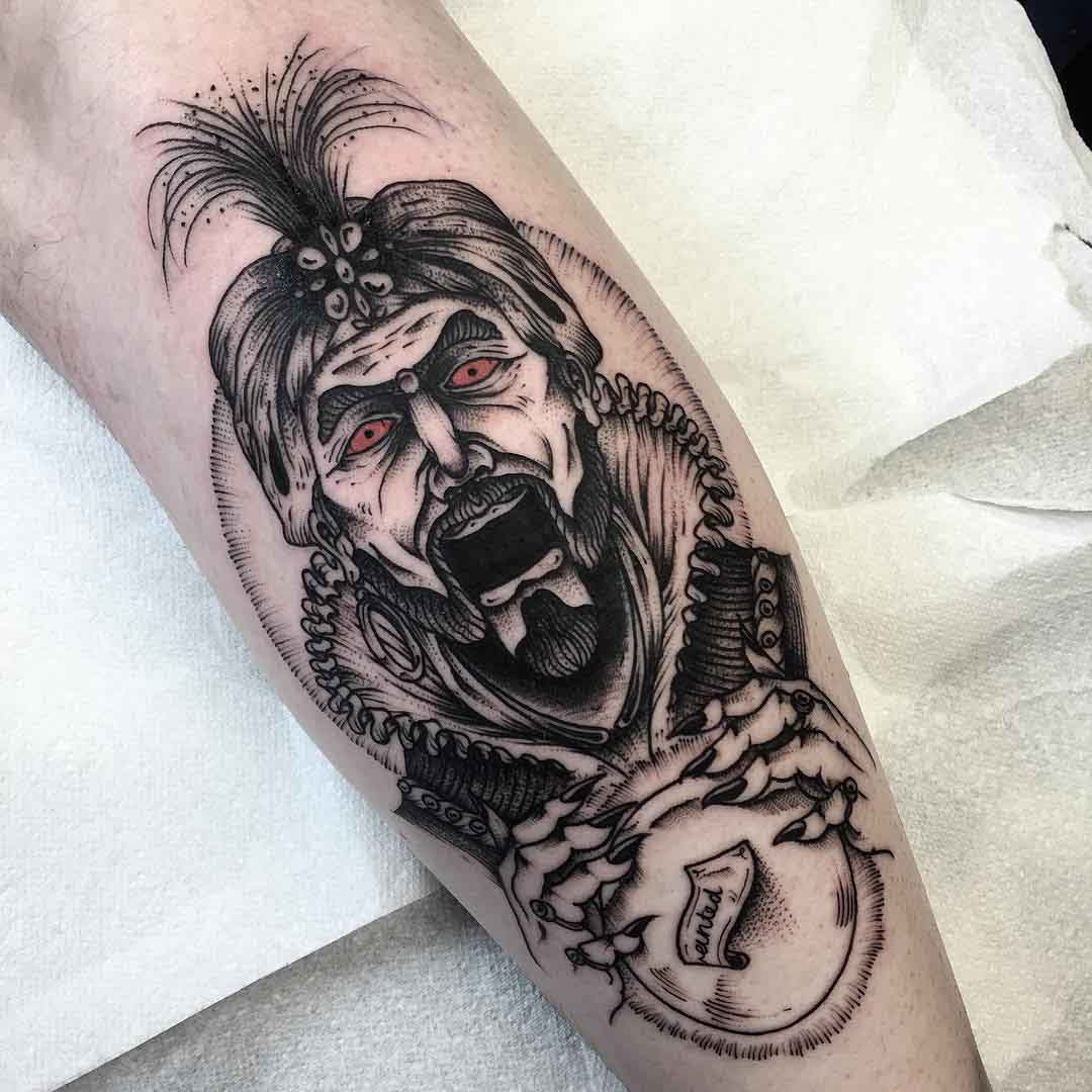 magic tattoo zoltar