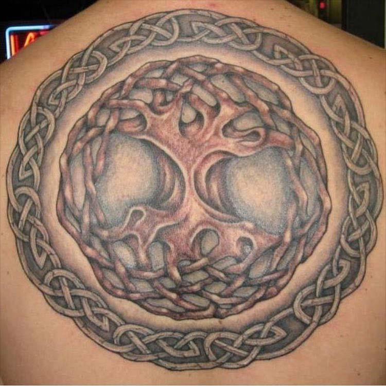 Celtic Knot Tree of LIfe Tattoo by Stefan Hagar