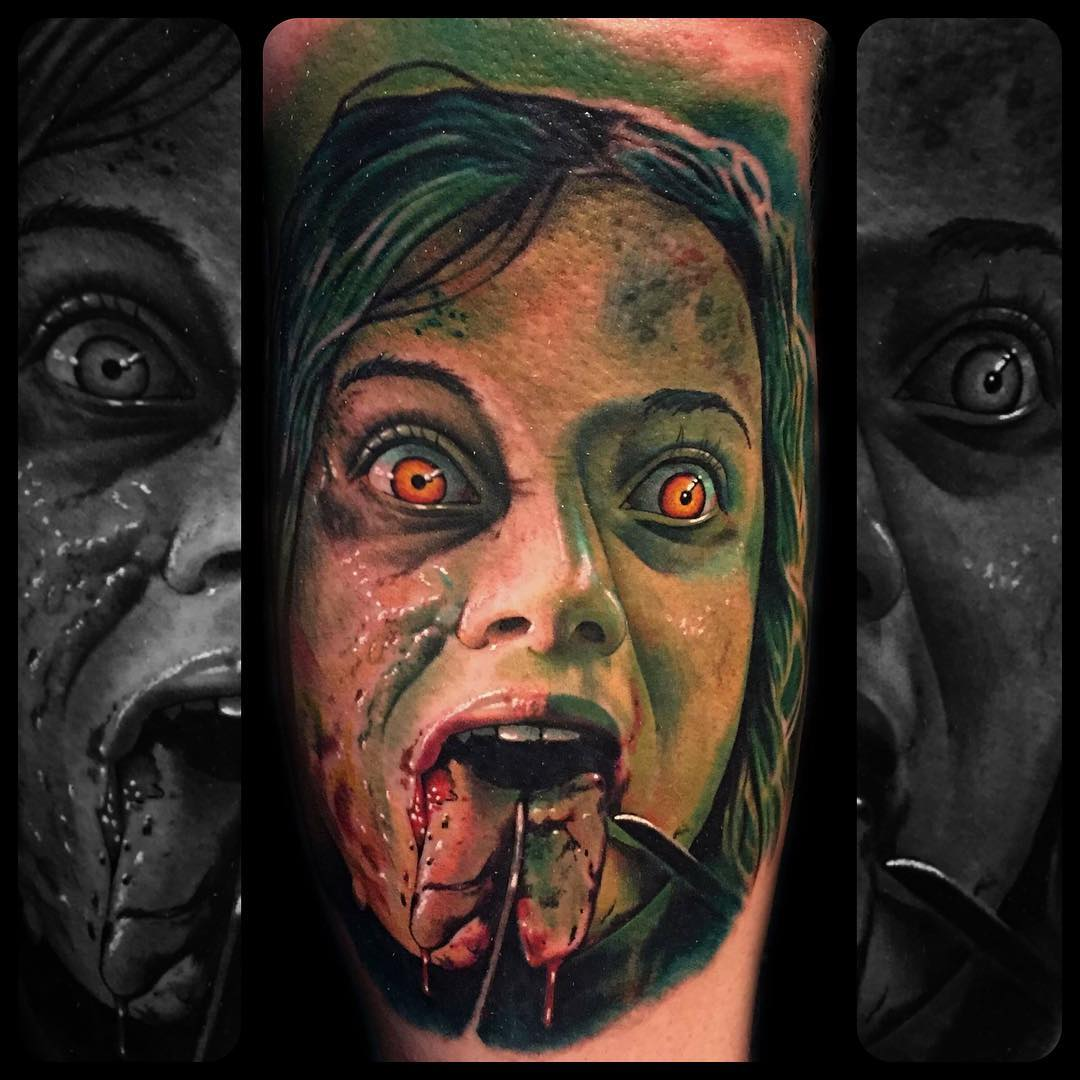 Mia from Evil Dead! by corpsepainter