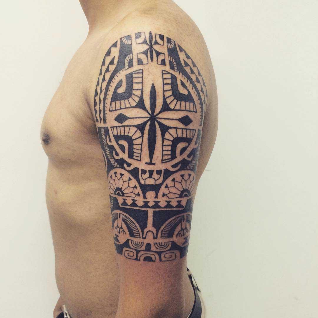 Polynesian Maori Tattoo by Janser
