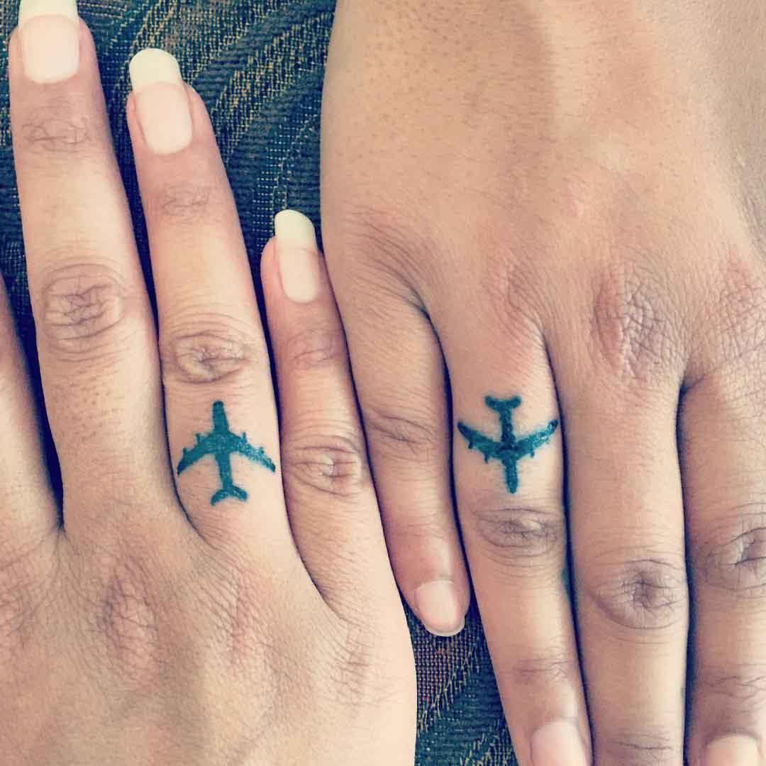 Sister Finger Tattoos