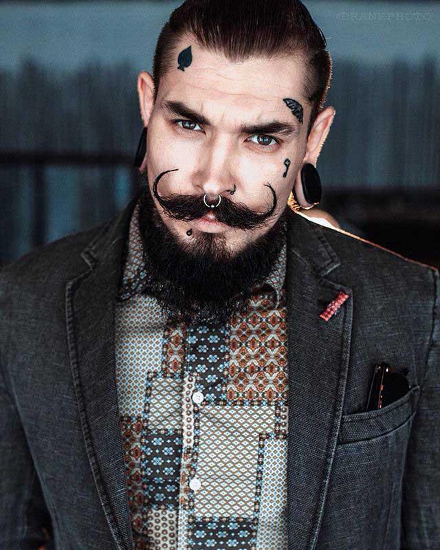 Small Facial Tatoos by crow_of_spades