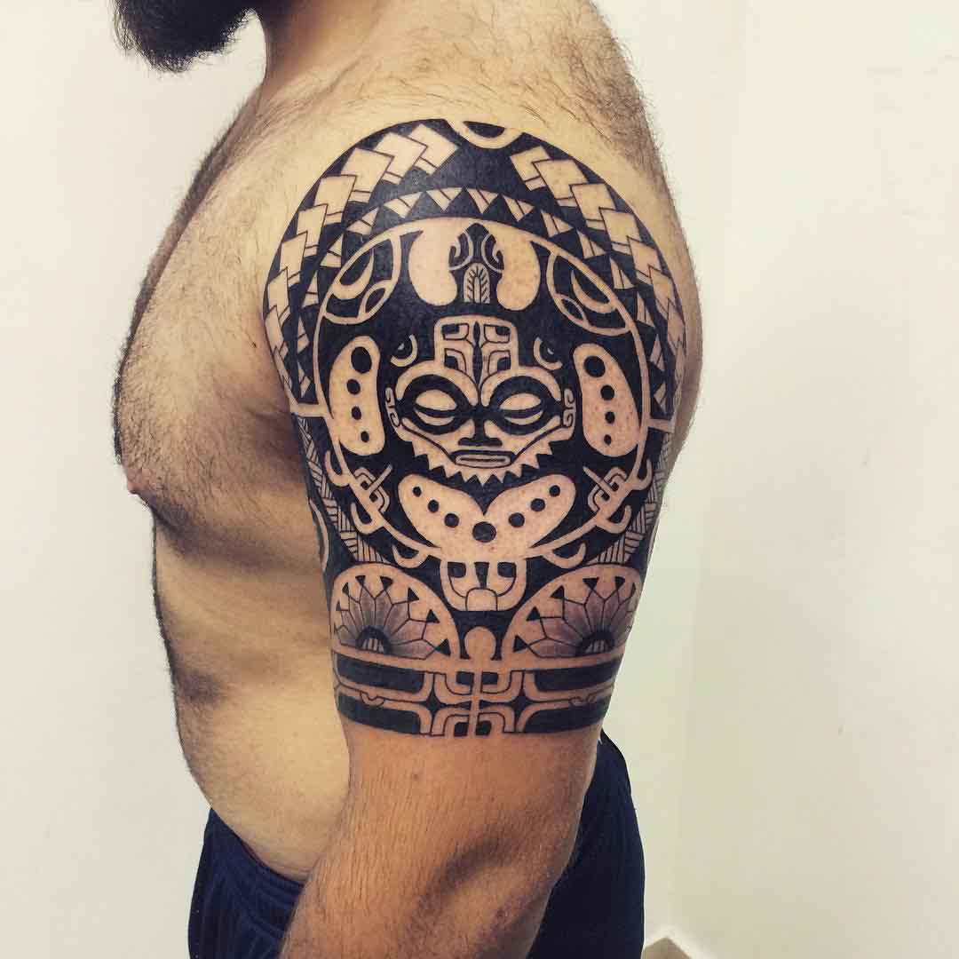Tattoo Maori Design by Janser