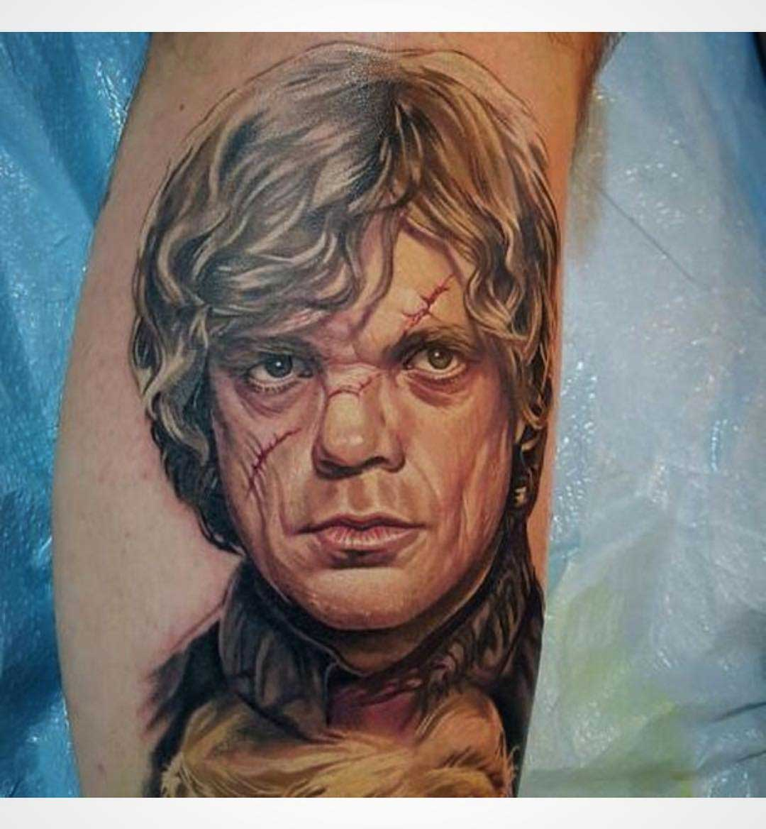 lannister realistic tattoo game of thrones