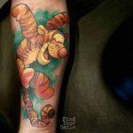 Tigger Tattoo on Arm