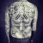 Polynesian Tattoo Back