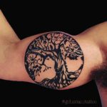 Tattoo on Inside of Bicep