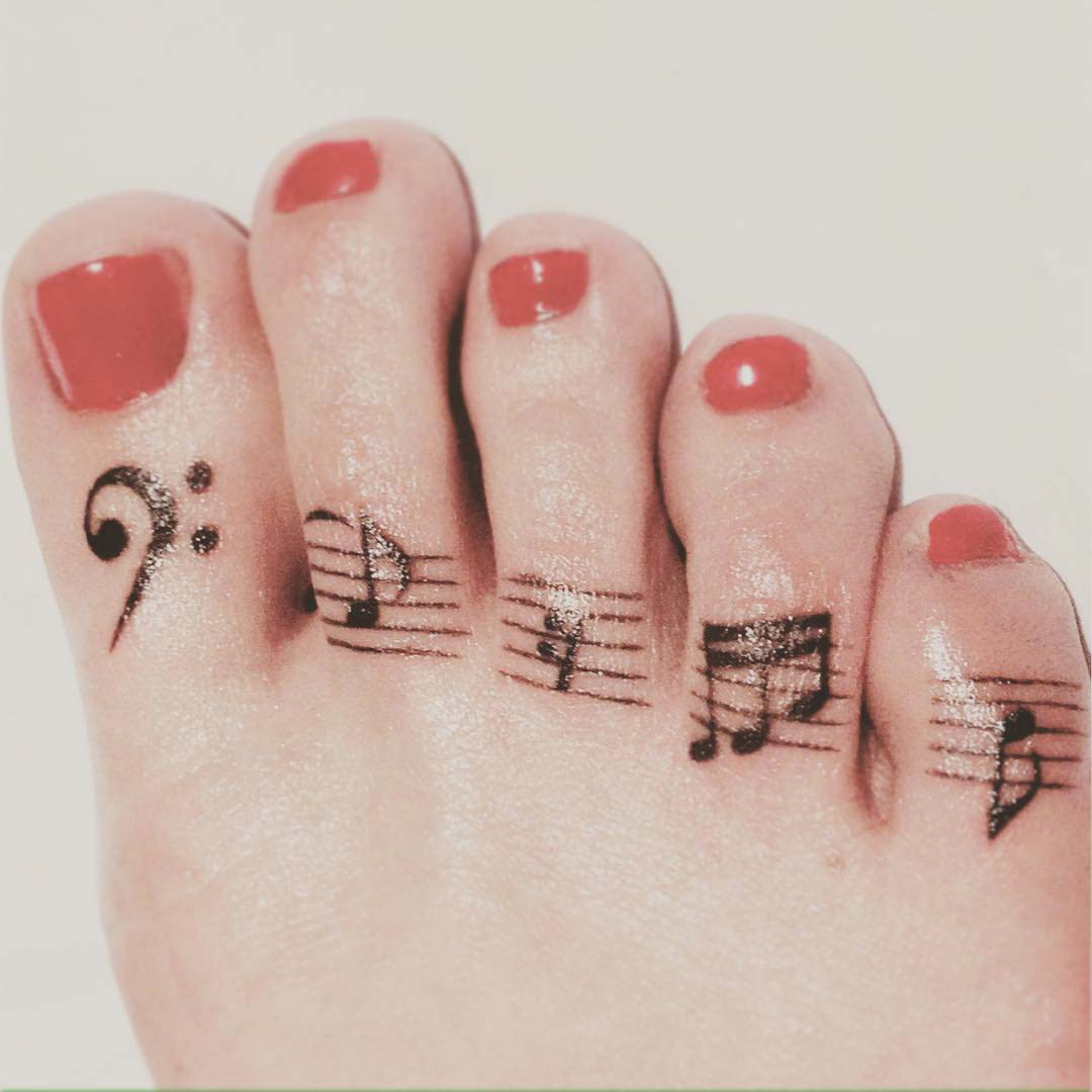 Music Symbols Tattoo Bojyakorova