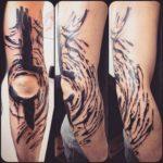 Tattoo Around Elbow