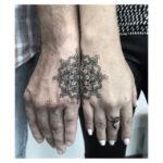 Matching Mandala Tattoo For Couple