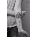 Mandala Dragonfly Tattoo