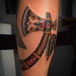 Tomahawk Tattoo Axe