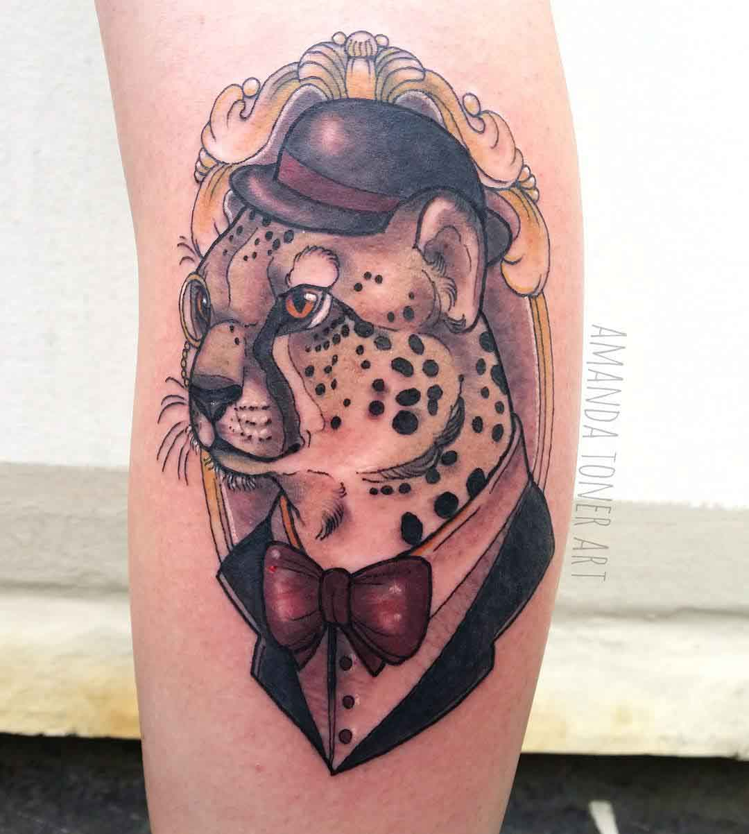 Gentleman Cheetah Tattoo
