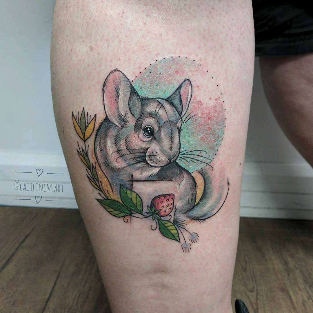 chinchilla tattoo