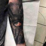 Psychiatric Eye Tattoo