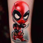 Little Deadpool Tattoo