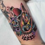 Neo-Traditional Tattoo Design