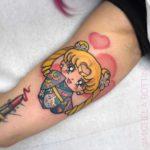 Kimono Sailor Moon Tattoo