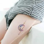 Crystal Moon Tattoo