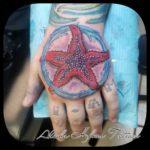 Starfish Tattoo on Hand
