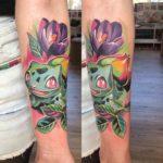 Bulbasuar Tattoo Pokemon