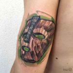 The Mask Tattoo