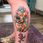 Up Tattoo Dug