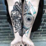 Geometry Tattoo Baroque