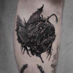 Sea Devil Fish Tattoo