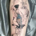 Chinese Traditional Painting Tattoo